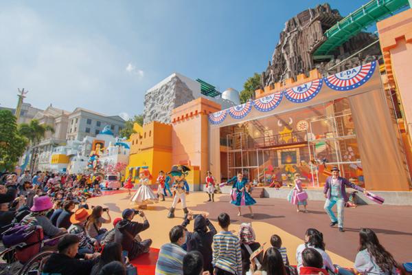 全台灣唯一義大遊樂世界希臘主題樂園 花車遊行豐富設施 全家大小一票玩到底
