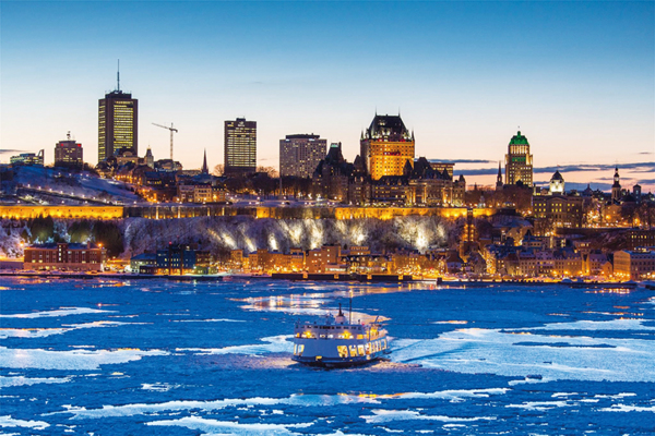 和魁北克人同享四季奇蹟 到北美「新法國」魁北克