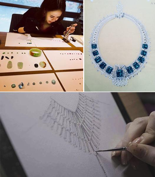 以踏入演藝圈,李倩儀自行創業個人珠寶品牌