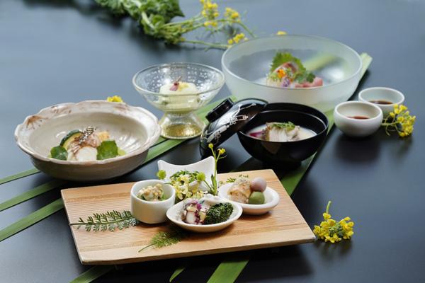 日勝生加賀屋春季料理 綠意盎然中的美味