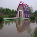 珍粉紅城堡 水漾森林教堂