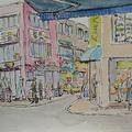 韓國慶州步行街