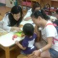 我們團隊的治療師於內湖的康寧幼稚園提供孩子及家長於兒童發展的篩檢諮詢。