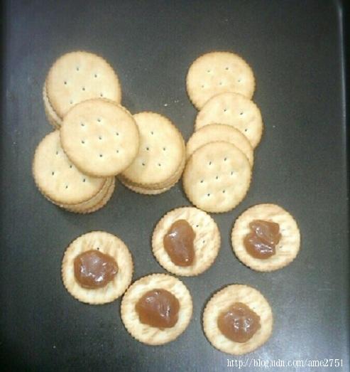 麥芽糖夾餅