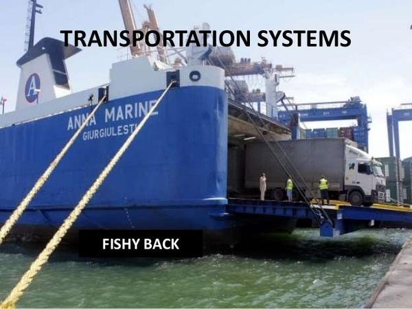 船背運輸(Fishyback) - 安瑟供應鏈及物流運籌管理專有名詞- udn