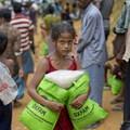 逃離到孟加拉的羅興亞難民兒童。(美聯社)
