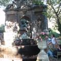巴黎盧森堡花園一景悠閒池