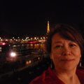 River Seine 巴黎市賽納河與艾菲鐵塔夜景
