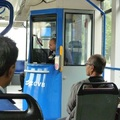 On Amsterdam tram