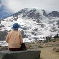 阿嬤 and Mt Rainier