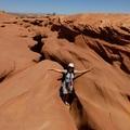 下羚羊彩穴出口 Lower Antelope Canyon