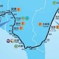 台灣鐵道之旅地圖南橫段