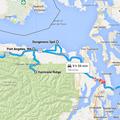 Olympic Peninsula driving map 02
