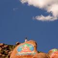 哲蚌寺(Drepung Monastery) 位於Mount Gephel山腳下 拉薩藏傳佛教四大派別中的格魯派的三大寺之一 藏語哲蚌是「米堆」的意思