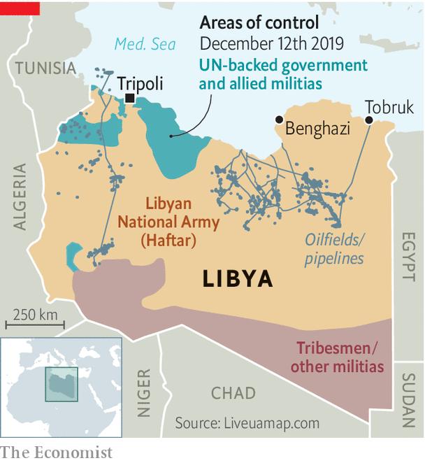 2019利比亞內戰擴大烽火再起? 土耳其插一腳? Libya on The Brink of Full-Scale War - Red Square  123的部落格- udn部落格