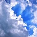 關山的天光雲影