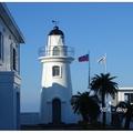 「基隆燈塔」建於 1899年,位處於基隆港西岸碼頭萬人堆鼻,能眺望整個基隆港區與海景。