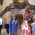 Last December; downtown L.A. Baltimore Hotel
