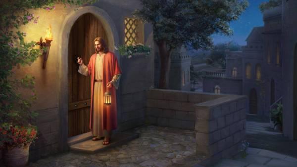 主耶穌再來叩門