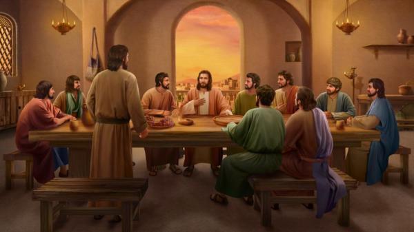主耶穌與門徒腓力對話