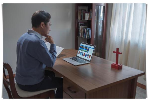 基督徒在網上尋找神的聲音