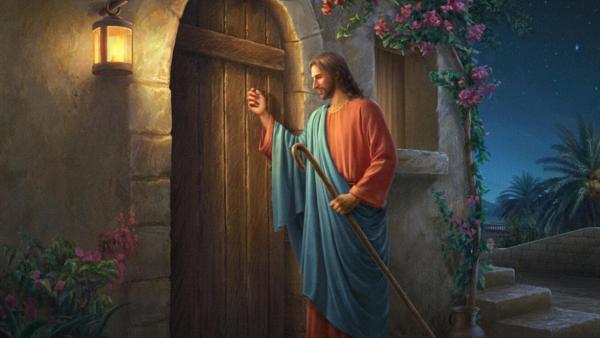 主耶穌在叩門