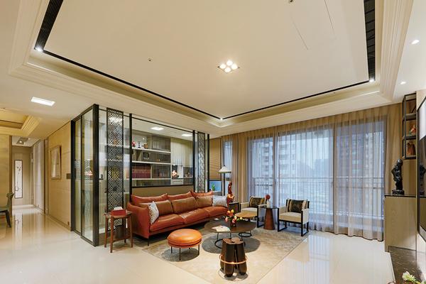 混搭現代感!交織出明亮敞朗、開闊大氣的舒適居家空間