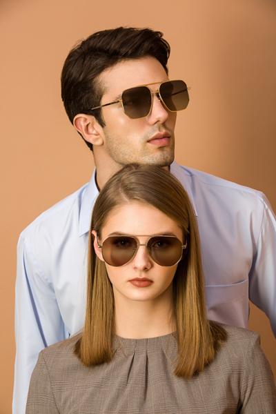 MONTAGUT 不銹鋼偏光太陽眼鏡 表現自我獨特風采