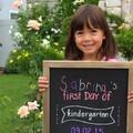 Sabrina goes Kindergarten