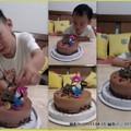 花ㄉ心的小姪兒3歲生日