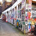 Brick lane \ shoreditch \ east London .
