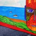 這些畫 無風無派 純為紓解憂鬱壓力的塗鴉 複製品每幅1500元(含裱框) 欲購者請留言