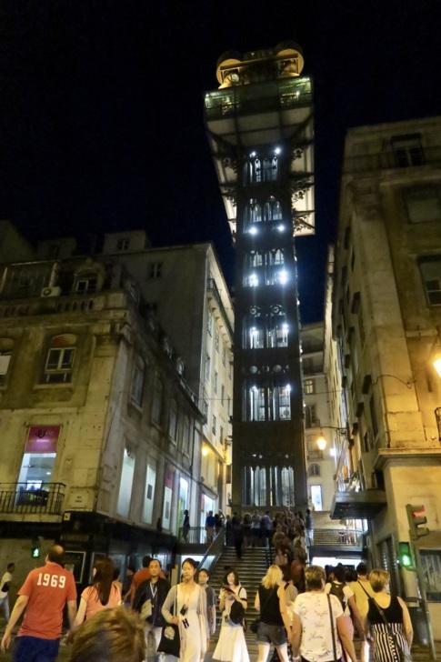 聖胡斯塔升降梯 Santa Justa Lift