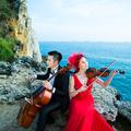 高雄柴山大自然提琴婚紗