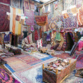 A rug shop in central Turkey____italian poppies