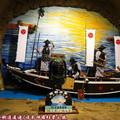 (439)和歌山-三段壁洞窟之熊野水軍拍照背景