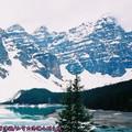 (004)加拿大洛磯山脈-班夫國家公園之十峰谷與夢蓮湖