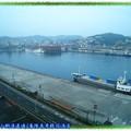 (014)基隆長榮桂冠酒店9F俯瞰港口晨曦
