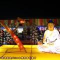(282)民俗文化燈區-尸毗王割肉餵鷹救鴿花燈