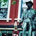 (316)溫哥華-蓋士鎮蓋仙先生雕像