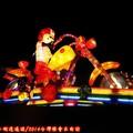 (251)產業燈區-大同寶寶哈雷騎士花燈