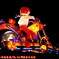 (252)產業燈區-大同寶寶哈雷騎士花燈