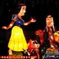 (257)競賽燈區-白雪公主花燈