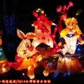 (258)競賽燈區-愛麗絲夢遊仙境花燈