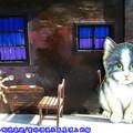 (11)雲林頂溪社區-屋頂上的貓