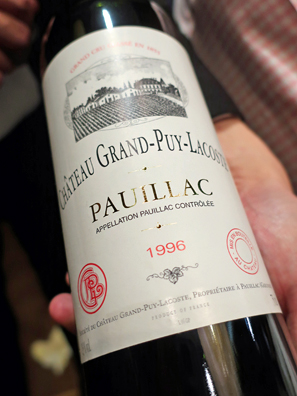 1996 Chateau Grand-Puy-Lacoste