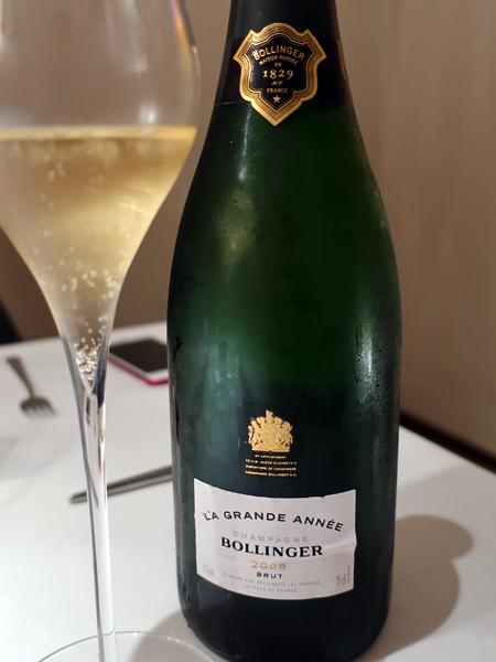 2005 Bollinger Brut Champagne La Grande Année