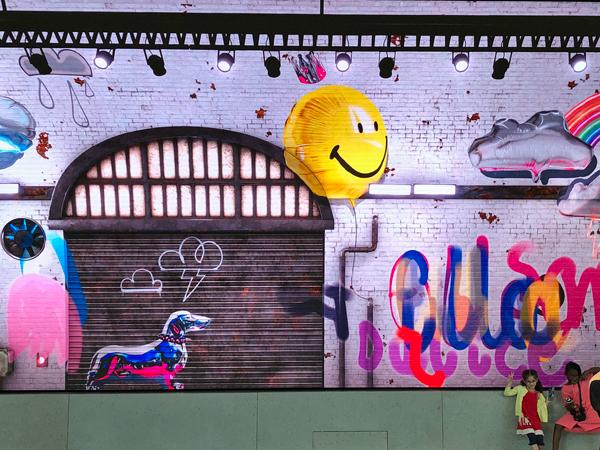 電子塗鴉牆