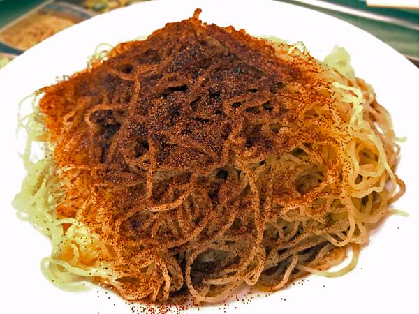 蝦子(籽)撈麵