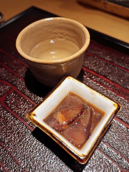 螢烏賊與日本酒